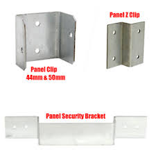 Fence Panel Clips Post Security Brackets Trellisdecking Garden Keep Panels Fixed Ebay