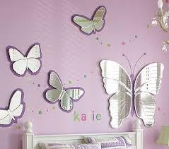 Butterfly Mirrors Butterfly Room Decor Butterfly Bedroom Ideas Kids Butterfly Mirror