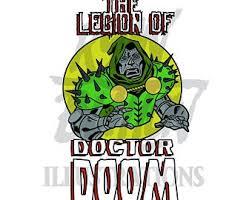 Legion Of Dr Doom T Shirt Etsy