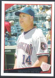 Amazon.com: Baseball MLB 2009 Topps #318 Manny Acta MG Nationals ...