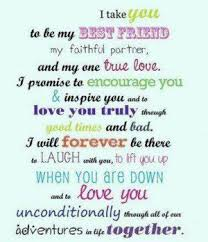 quotes my best friend my husband wedding vows to husband