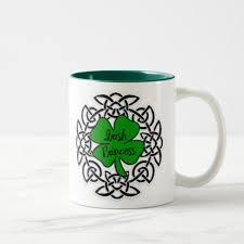 celtic irish princess two tone coffee