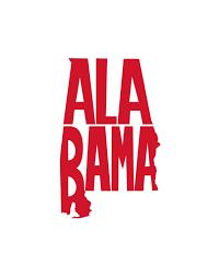 Alabama State Decal Vinyl Decal Alabama Sticker State Decal Car Decal Yeti Decal Tumbler Decal By Dixielife On Et Car Decals Car Decals Vinyl Yeti Decals