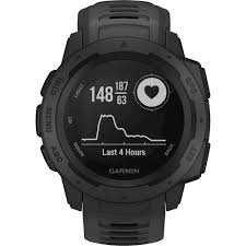 Garmin Instinct Smartwatch Fiber-Reinforced Polymer Graphite with ...