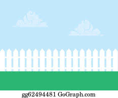 Picket Fence Clip Art Royalty Free Gograph