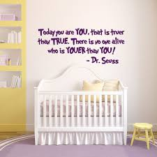 Dr Seuss Today You Are You Vinyl Wall Decal Sticker Quote Nursery Home Child Home Garden Children S Bedroom Child Decor Decals Stickers Vinyl Art