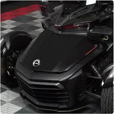 Can Am Spyder F3 Lemans Dual Racing Stripe Vinyl Decal Kit