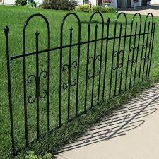 Garden Edging Products Pack Of 4 Bronze Plastic Fence Panels Garden Lawn Edging Plant Border Landscape Garden Patio Tallergrafico Com Uy