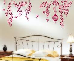 Hanging Vines With Cage And Birds Wall Sticker Pvc Vinyl Decal Wall Art Stickers Ebay