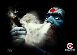 lord shiva smoking wallpapers