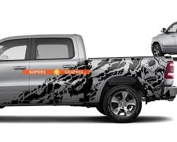 Custom Vinyl Decal Nightmare Wrap Kit For Dodge Ram 1500 2018
