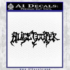Alice Cooper Band Logo Decal Sticker Vzl A1 Decals