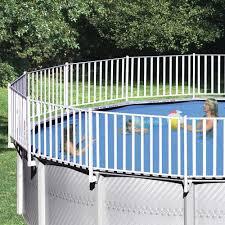 Heritage 18 Round Pool Fence Enclosure Walmart Com Walmart Com