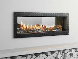 mezzo see thru gas fireplace encino