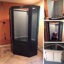 chameleon corner furniture cage diy