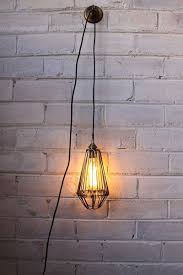 pendant light cord inline switch with