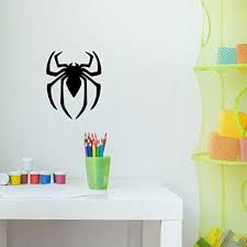 Spiderman Superhero Icon Emblem Symbol Vinyl Decor Wall Decal Customvinyldecor Com