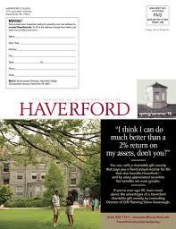 Haverford Spring/Summer 2014