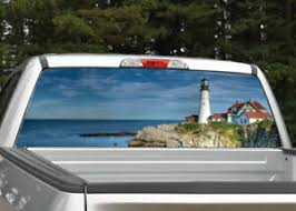 Lighthouse Ocean Beach Rear Window Decal Graphic Truck Suv Ebay
