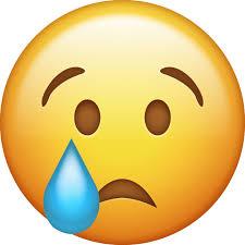 sad emoji face transpa png