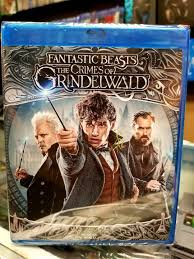 Fantastic Beasts The Crimes Of Grindelwald Blu Ray + Dvd + Digital - Movie  Galore