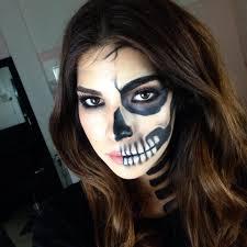 20 skeleton makeup designs trends