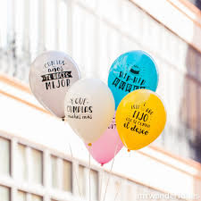 Globos Mr Wonderful