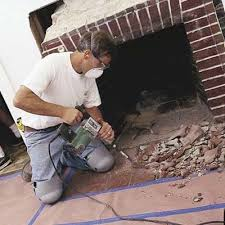 how to reface a fireplace surround and