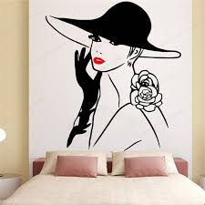 Beautiful Woman Face Wall Sticker Vinyl Beauty Salon Wall Decal Lashes Wall Decor Home Decor Wall Art Mural Hj882 Buy Inexpensively In The Online Store With Delivery Price Comparison Specifications Photos