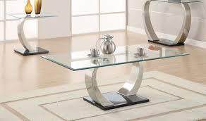 rectangular glass top coffee tables