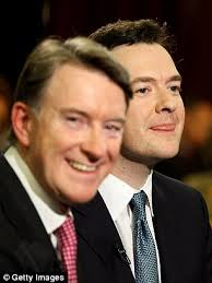 Peter Mandelson and George Osborne have a very surprising love-in | Daily  Mail Online