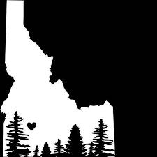 Idaho Decal Decal Idaho Window Decal Sticker Idaho Sticker Etsy