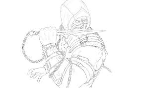 Scorpion Mortal Kombat Drawing Google Search Scorpion Mortal
