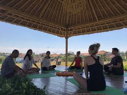 guided meditation holiday with yoga