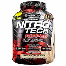 muscletech nitro tech ripped 4 00 lbs