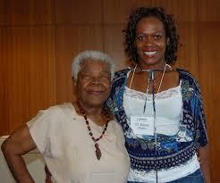 Lillie Johnson and author Dr. Karen Flynn - Lawrence S. Bloomberg ...