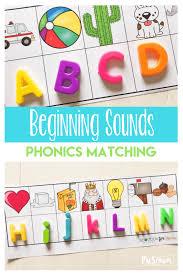free beginning sounds phonics game