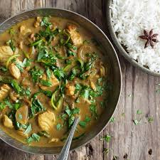 Goan Fish Curry with Fragrant Rice recipe / Riverford