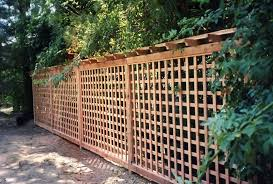 Cheap Lattice Fence Ideas Jay S Redwood Fences Custom Wood Fences Gates Redwood Enclosures Wood Fence Design Lattice Fence Fence Design