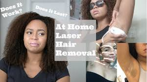 at home laser hair removal for dark