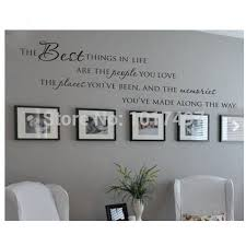 love family quotes vinyl wall sticker people place memories