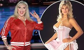 Samantha Fox, 52, turns back the years in spangled cheerleader-inspired  ensemble | Daily Mail Online
