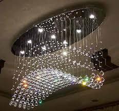 led k9 crystal chandelier