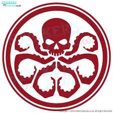 Agents Of Shield Hydra Logo Vinyl Wall Art Wall Decal Sticker Etsy