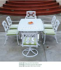 china patio dining table cast aluminum