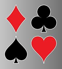 Playing Cards Suit Sticker Vinyl Decal Buy Online In India At Desertcart