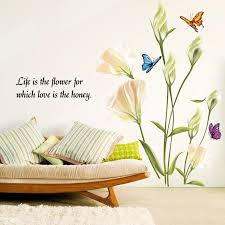 Buy Removable Wall Stickers Wall Sticker Living Room Decorative Wall Color Natural Green Roof Baskets Spider Creative English In Cheap Price On M Alibaba Com