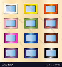 photo frames royalty free vector image