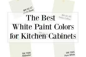 choosing the best white paint color for