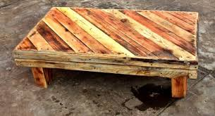 pallet coffee table diy plans 1001